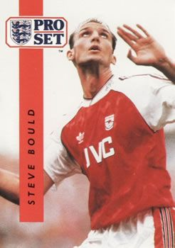 1990-91 Pro Set English League #5 Steve Bould Front