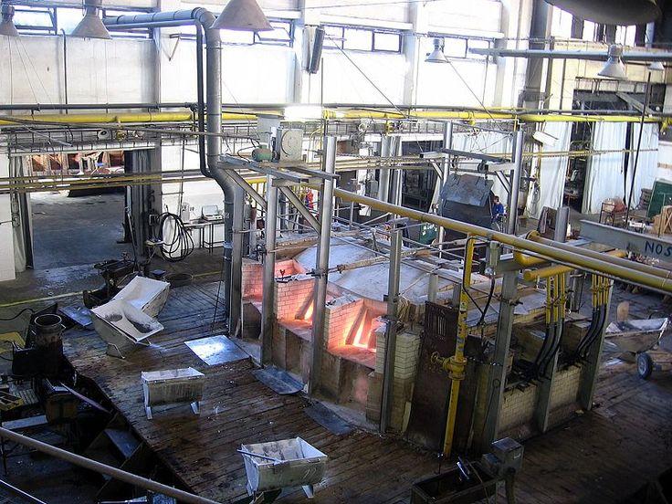 glassblowing manufacture (Sklárna Novosad & Syn, erected 1712) in Harrachov, Czech Republic