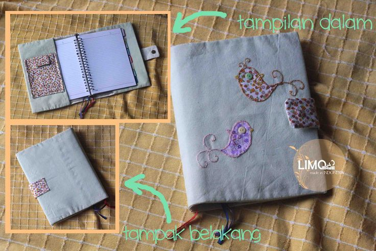 Couple Bird 2   45K   bahan : kain belacu   check this limo-made.blogspot.com #handmade #coverbinder #sampulbinder #limitededition #semarang #indonesia #limomade