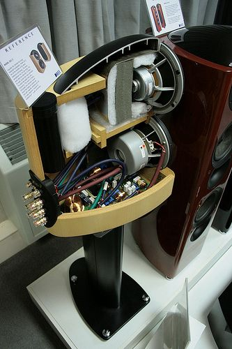 KEF Reference 201/2 Cutaway view | Flickr - Photo Sharing!