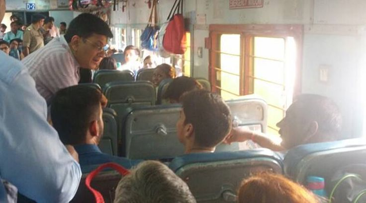 Railway Minister travels in Kota Jan Shatabdi Express takes feedback from passengers to improve services - The Indian Express #757Live