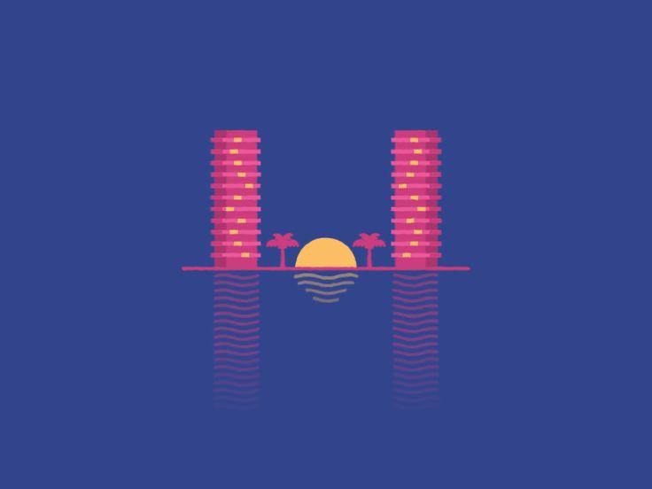 miami city dribbble