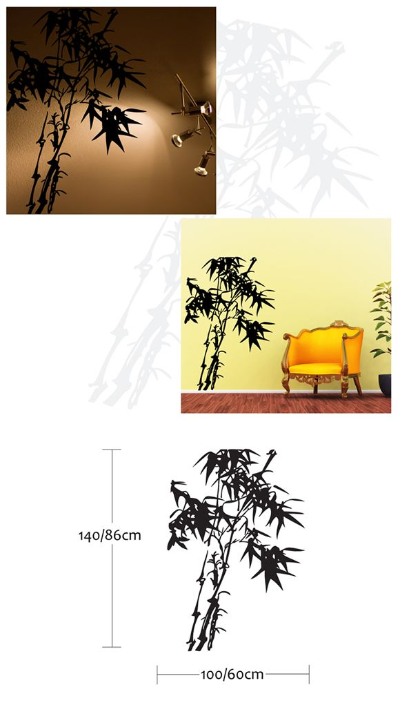 Bamboo Tree Wall Stickers