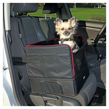 voor kleine honden nylon / lamsvacht uiterlijk kan ook gebruikt worden als een reis-bed nylon band om de box te beveiligen verhoogde stoel met extra compartiment onder, laat de hond goed naar buiten kijken extra zacht en knuffelig ook geschikt voor langere autotochten riem split maakt het mogelijk om de hond buckle up ruimtebesparende opslag Afmeting: 45x38x37cmNone