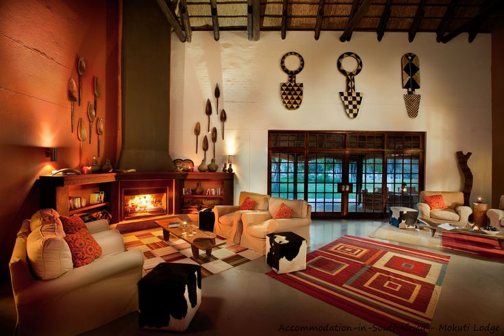 Lounge at Mokuti Etosha Lodge. http://www.accommodation-in-southafrica.co.za/Namibia/Tsumeb/MokutiEtoshaLodge.aspx
