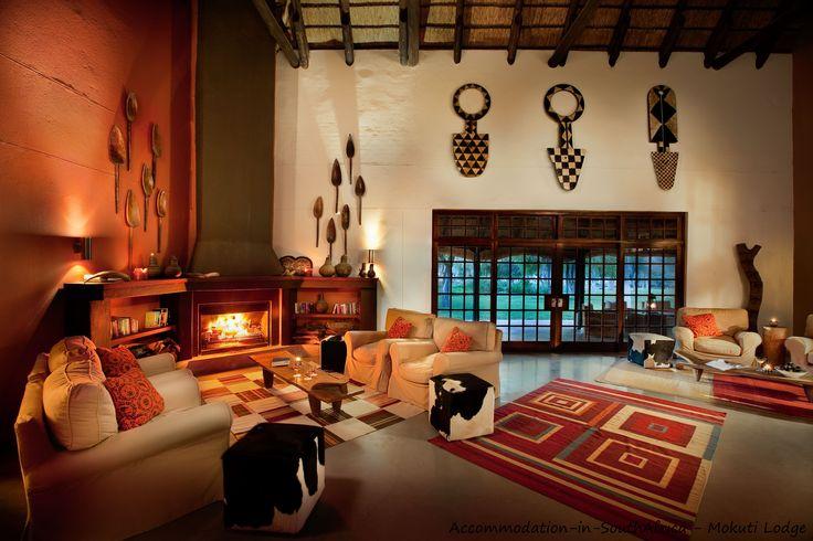 Lounge at Mokuti Etosha Lodge. http://www.accommodation-in-southafrica.co.za/Namibia/Tsumeb/MokutiEtoshaLodge.aspx