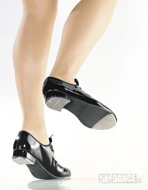 TA35 - Stepovacie topánky - Obuv - Stepovacia obuv - Stepovacie topánky - Detské stepky - Stepovacia obuv - Stepovacie topánky - Klasické pevné stepky s elastickým cvočkom pod stužkou, ľahko obúvateľné, dpružená stielka, stužka sa dá sňať - SoDanca - 5kdance.sk