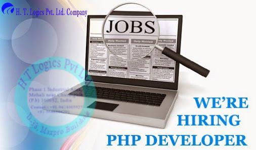 Hiring PHP Developer in HTLogics.com