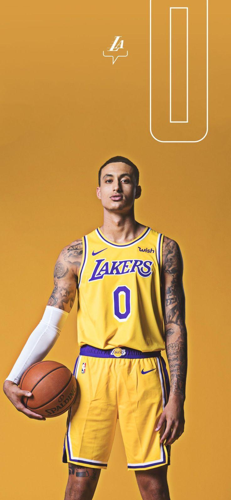 Los Angeles Lakers Uniform Basketball In 2020 Lakers Wallpaper Kyle Kuzma Los Angeles Lakers