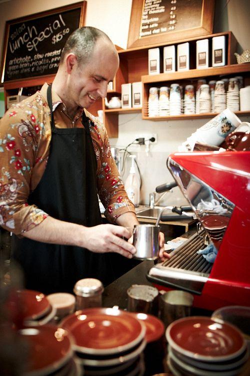 The Coffee expert @ Café Derailleur