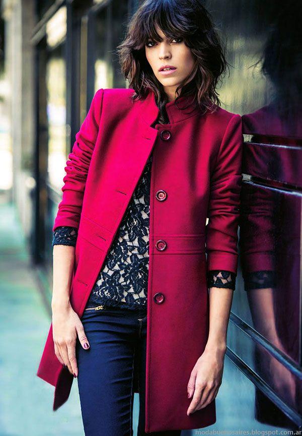 TAPADOS 2015: Moda abrigos 2015. Ropa de mujer Markova.