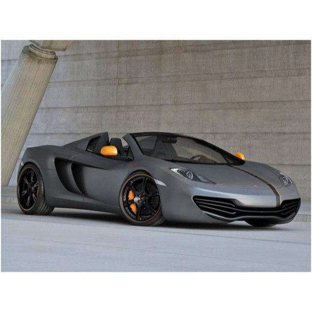 Cool Matte Grey McLaren MP4-12C