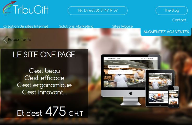 Le Site One Page http://www.tribugift.com/site-one-page.html