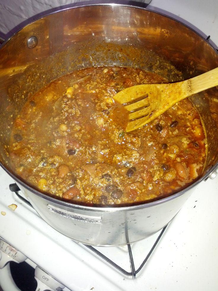 Recipes: Turkey Chili -- Protein-Loaded, Low Fat, Fiber Rich - Lean It UP