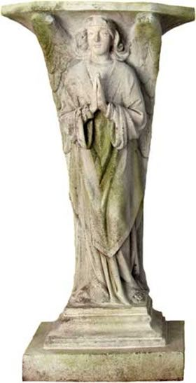 43 best images about garden pedestals and columns on for Praying angel plant