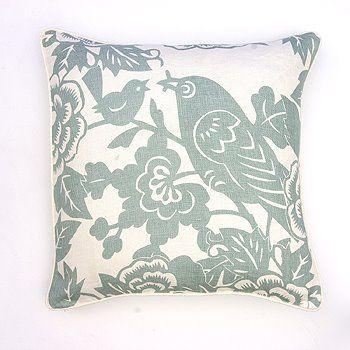 Put a bird on it.22X22 Pillows, Ducks Eggs, Thomaspaul Robin, Robin Pillows, Linens Pillows, Thomas Paul, Birds Pillows, Birdie Pillows, Paul Pillows