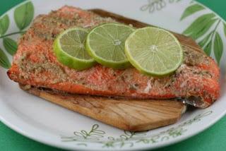 Cedar Planked Salmon   can use a foil pack instead of cedar  crock pot recipe