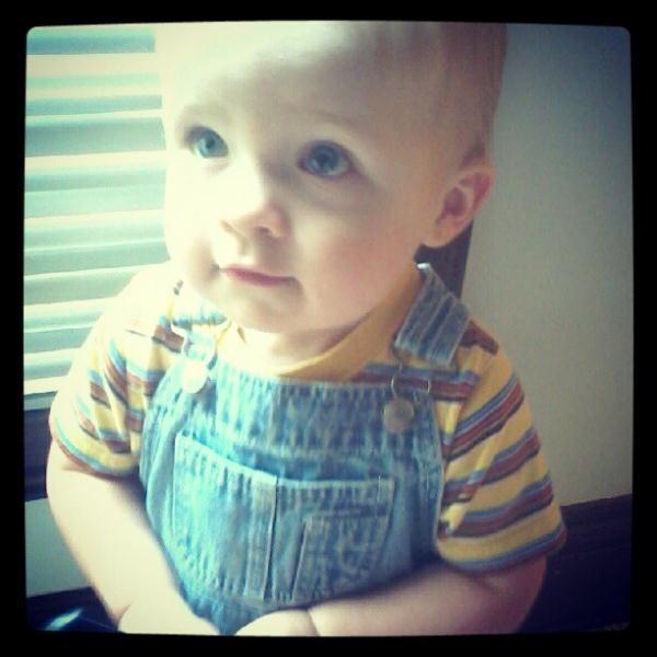"""my little grandson gives me hope"" #iivhope"