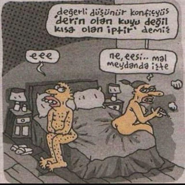 Daha fazlası için arkadaşlarını etiketle ve bol yorum yap . . . #karikatür #mizah #argo #terbiyesiz #komedi #yatak #sikişş  #güldürü http://turkrazzi.com/ipost/1518169675418434739/?code=BURn0a0Ffyz