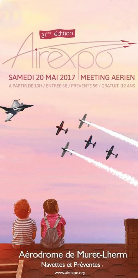 The Airexpo meeting is scheduled for Saturday 20th May at the Muret-Lherm airfield