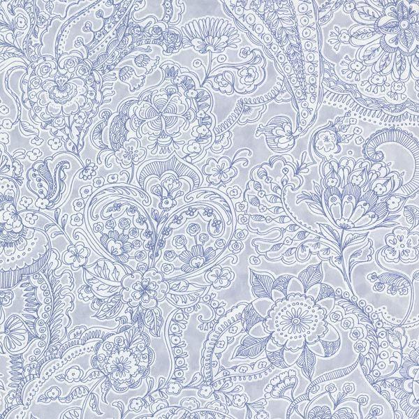 341525 Ocean Paisley - Barcelona - Raval Wallpaper by Eijffinger