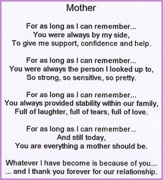 7 best images about Poems for my mom on Pinterest | Short mothers ...