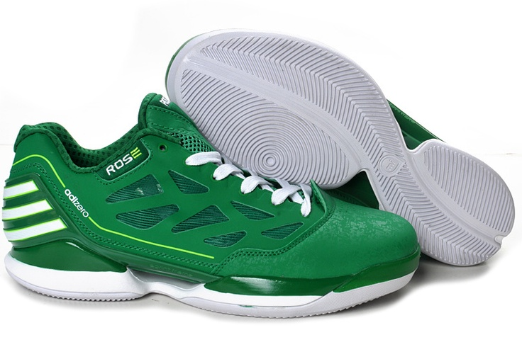 Adidas AdiZero Rose Dominate Low Green/White Shoes | Shoes | Pinterest | Adidas, Roses and Shoes