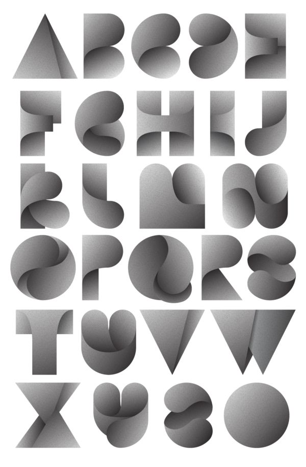 Fearless Leaves. Typeface by Jordan Metcalfe