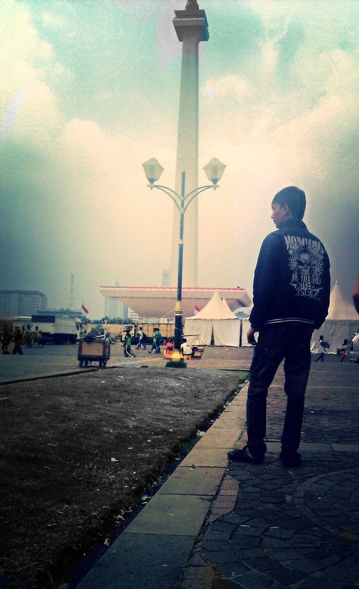 At Monas - Jakarta
