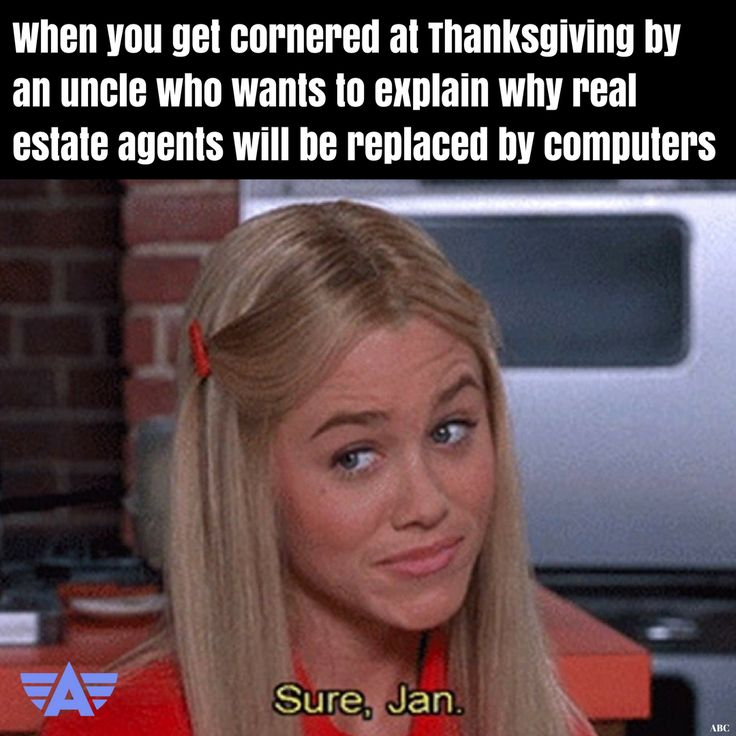 Nothing Like A Holiday Gathering To Bring Out The Inner Real Estate Experts In Your Family MemePistolen