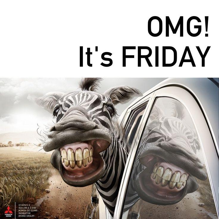 Oh My God! - endelig fredag. #NETkreft