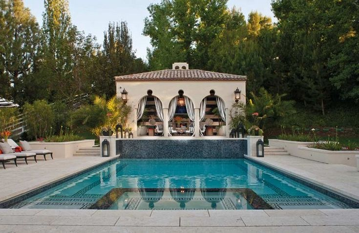 Home Inspiration Ideas » Summer outdoor ideas – beautiful swimming pool designs by #jeffandrews #lahomes Best Los Angeles interior designers
