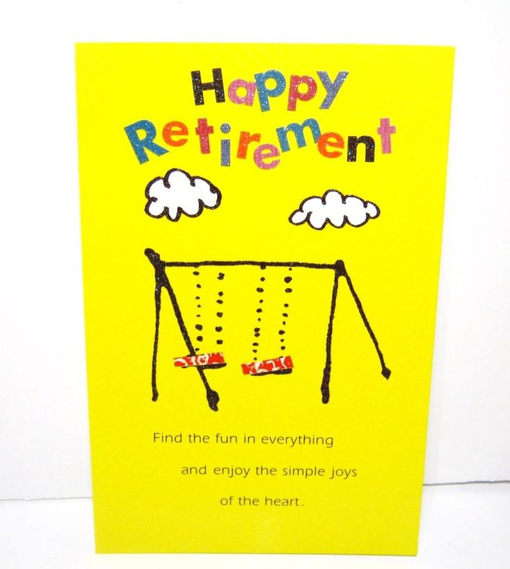 "GLITTERY RETIREMENT GREETING CARD    -'FIND FUN IN EVERYTHING""  #Hallmark #Retirement"