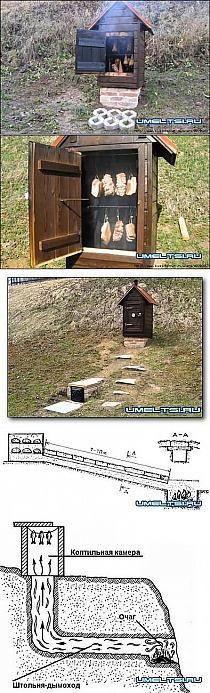 Construcción de un ahumadero