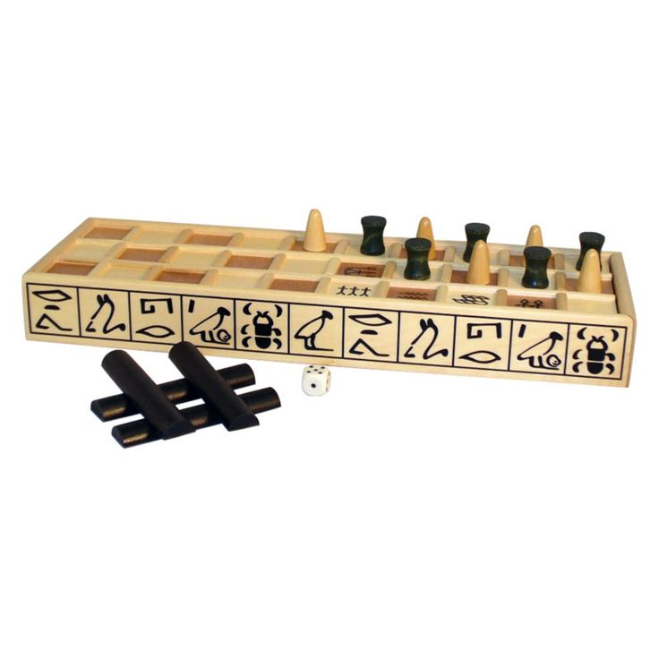 Senet Wooden Board Game - 21241