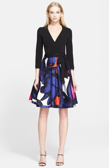 Diane von Furstenberg 'Jewel' Wrap Dress available at #Nordstrom
