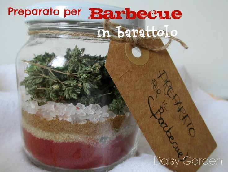 Daisy Garden: Preparato per il Barbecue in barattolo