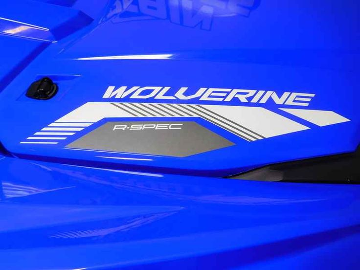 New 2017 Yamaha Wolverine R-Spec EPS Racing Blue w/Sunto ATVs For Sale in Tennessee. 2017 Yamaha Wolverine R-Spec EPS Racing Blue w/Suntop, For special internet pricing, contact Hayden at 423.839.3370 or 2017 Yamaha Wolverine R-Spec EPS Racing Blue w/Suntop ULTIMATE TERRAIN TAMER The terrain-taming Wolverine R-Spec EPS all but begs to tackle, explore and conque extreme terrain. Features may include: Supreme Off-Road Capability The Wolverine R-Spec EPS features an aggressive, compact look and…