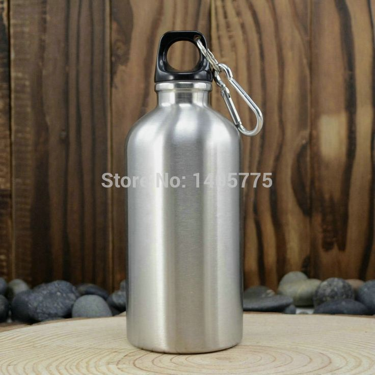 500ML Stainless Steel Water Bottle Mug Cup for Travel Outdoor Yoga Camping Hiking Cycling, Narrow Mouth