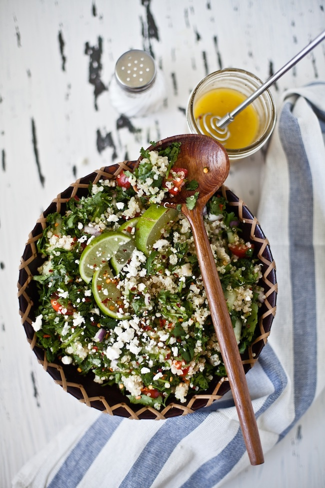 quinoa tabouleh: