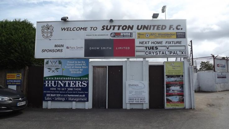 Sutton United FC (@suttonunited) | Twitter