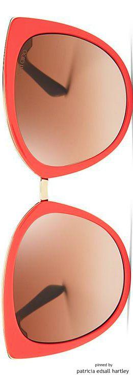 Jimmy Choo Mirrored Dana Cat Eye Sunglasses | House of Beccaria#