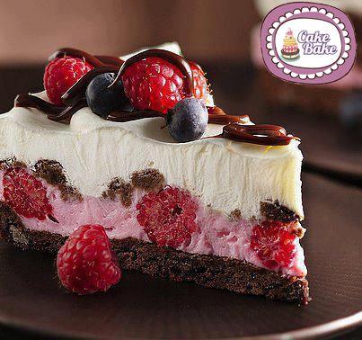 L'abbinamento tra cioccolato e lamponi sarà sorprendentemente buono! Cheesecake al Cioccolato e Lamponi 150 gr biscotti al cacao (o 1/2 dose di pasta froll