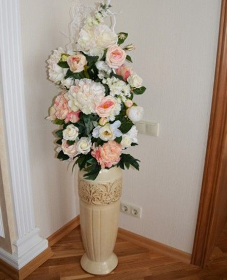 Напольные вазы, как элемент декора #напольнаяваза #дизайн #интерьер #декор