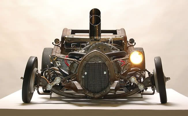 Steampunk Rat Rod | Want to get more such photos & truck related memes…