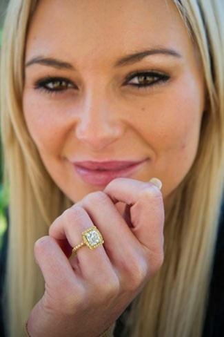 Karlien van Jaarsveld's wower ring!