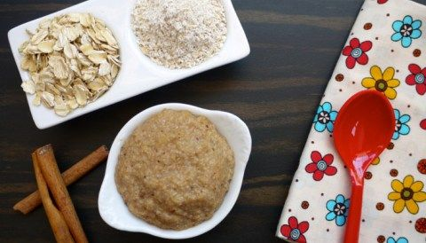 Homemade Oatmeal Cereal for Babies