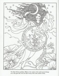 49 Best Fantasy Coloring Pages Images On Pinterest