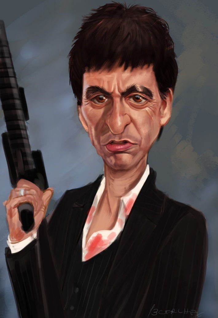 Scarface - an illustra...