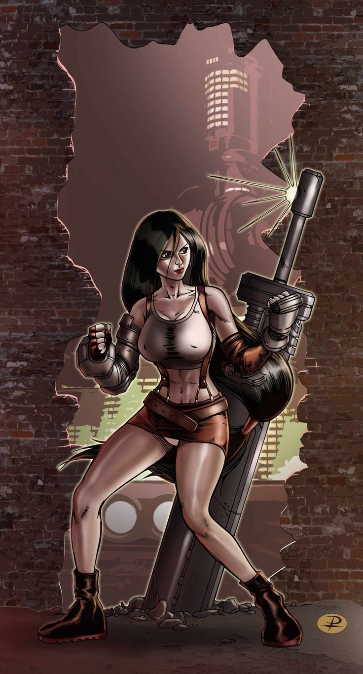 FF7 Tribute: Tifa by RUGGINE-610.deviantart.com Tifa! #ruggine